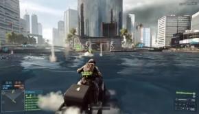 Battlefield 4 jetski